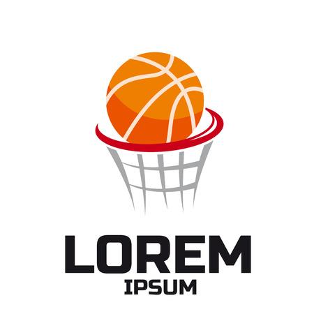Basketball sport vector logo design template