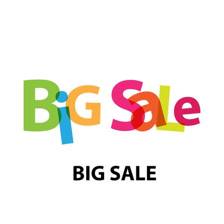 Vector big sale. Broken text