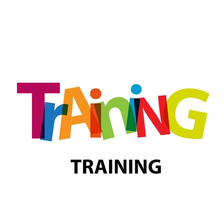 Vector training. Broken text