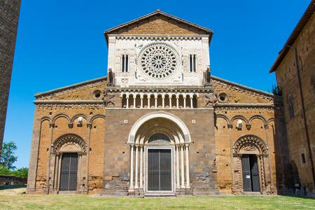 Tuscania, Viterbo, Italy: Exterior of San Pietro Church