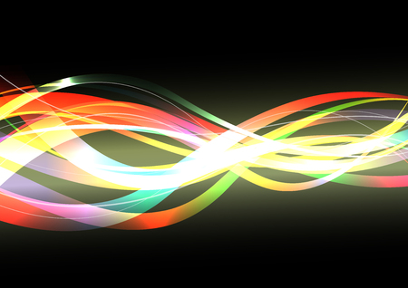Optical transmission, vector abstract background  イラスト・ベクター素材