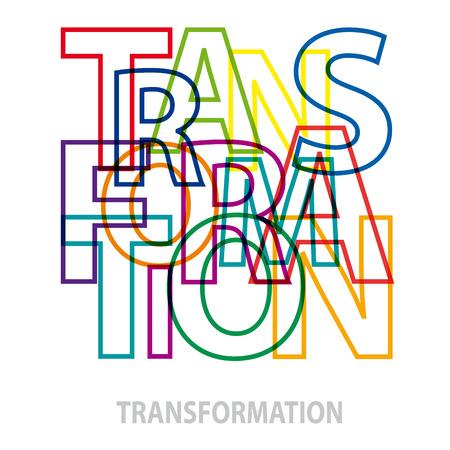 Wording  transformation. Broken text