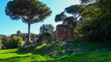 Portus was a large artificial harbour of Ancient Rome. Sited on the north mouth of the Tiber.