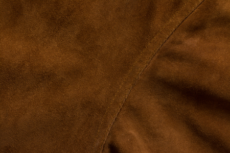 Detail of jacket suede. Tailoring background