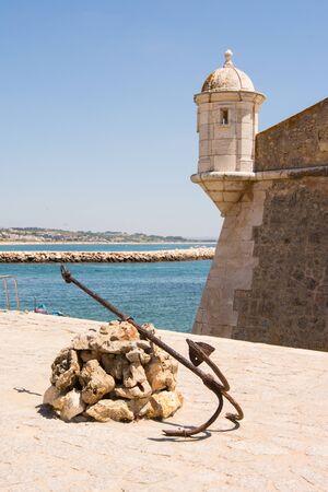 Medieval Forte de Bandeira in Lagos Portugal Stock fotó