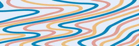 Background with curves, waves and lines. Header and banner. Design template for Brochure, Flyer or Depliant for business purposes