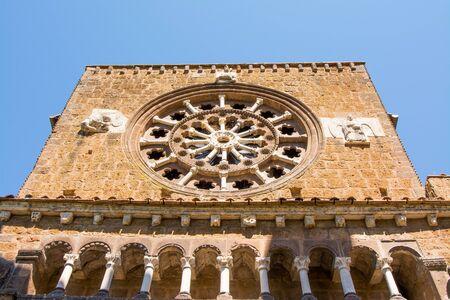 Tuscania, Viterbo, Italy: Santa Maria Maggiore church Stock Photo