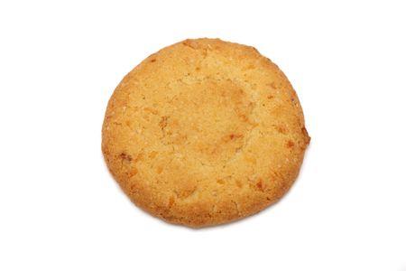 spicecake: A trozos de cookies aislados en el fondo blanco.