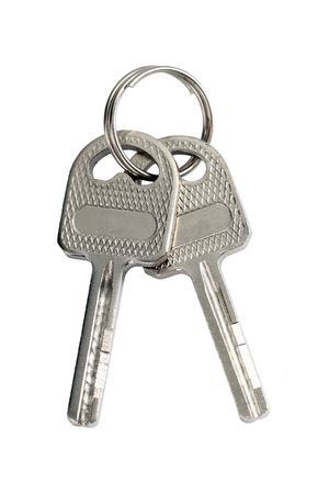 A bunch of keys isolated on white background. Stock Photo - 6260154