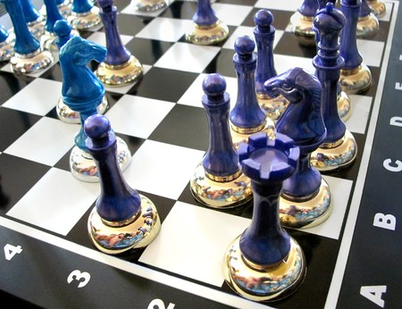 chess board game playing strategy the shine shining photo