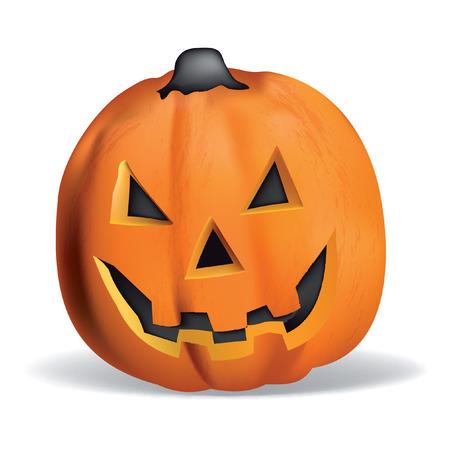 wizardry: Pumpkin vector halloween smile orange october magic