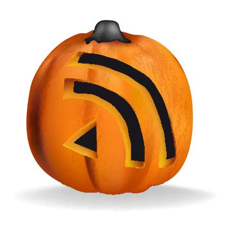 trickster: Pumpkin  halloween orange october magic RSS