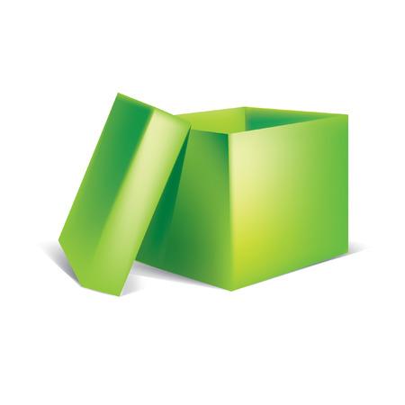The box Stock Vector - 7725838