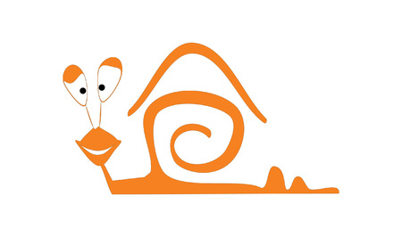 slither: The snail Illustration