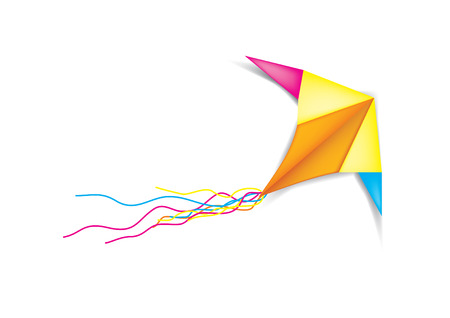 The kite Illustration