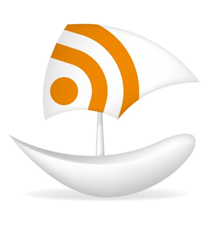 paper boat rss icon