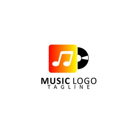 music logo: Music Logo Vector Illustration
