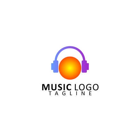 Music Logo Vector Illustration