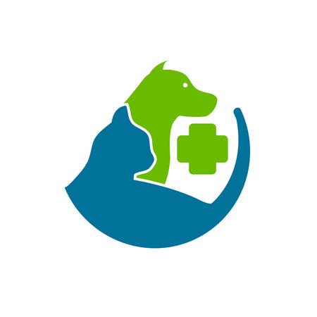 Animal Care Icon Logo Design Element