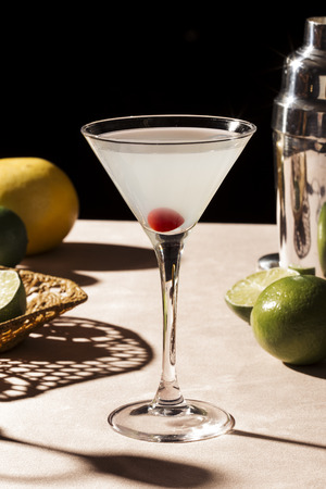 A Hemingway Special is an all day cocktail based on the Floridita Daiquiri and is recognised by the IBA.It is made with rum, lime juice, maraschino liqueur, and grapefruit juice