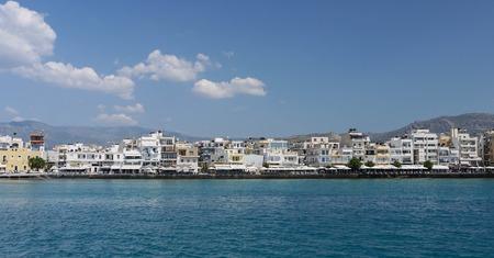 kreta: City Ierapetra Crete Stock Photo
