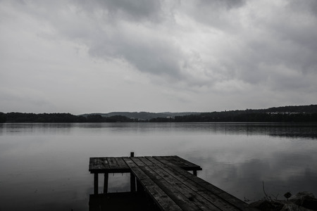 ceska: Grey Sky and Lake