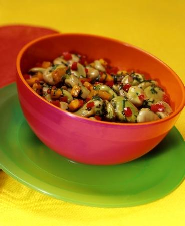 Vegetable Bean Stew Stock fotó