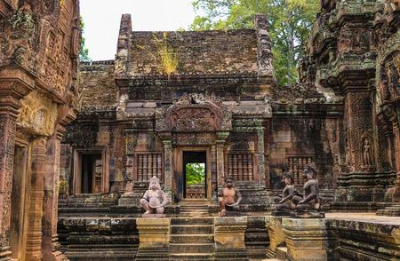 Banteay Srei Temple, Angkor Wat, Cambodia