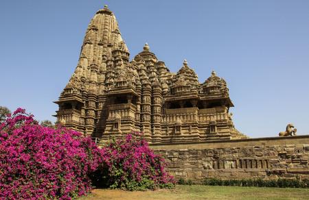 Madhya Pradesh Temple, Western Temples of Khajuraho,India Stock Photo