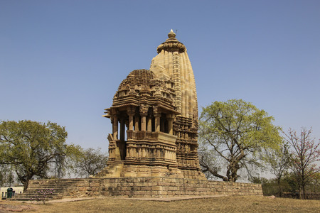 Chaturbhuja temple, southern group of temples of Khajuraho,India