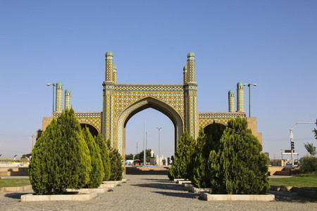 Qazvin Gateway or Darbe Kushk Gate, Qazvin, north-west Iran