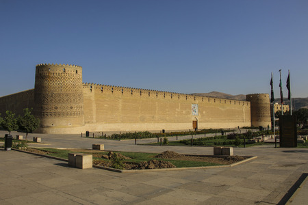 Karim Khan Citadel in Shiraz, Iran. It is known as Arg-e Karim Khan in Persian. Redakční