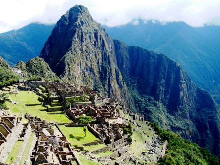 terracing: Machu Picchu