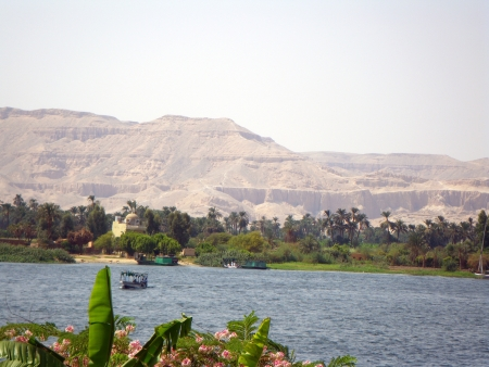 A view of the river Nile