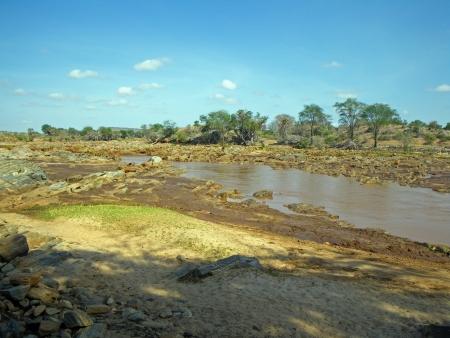 tsavo: Landscape in Tsavo park