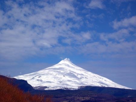 Volcano Villarica, Chile photo