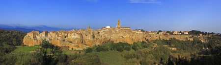 The famous village of Pitigliano in Tuscany, province of Grosseto.