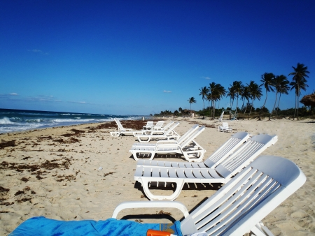 Cuban Seaside at Playa Del Este photo