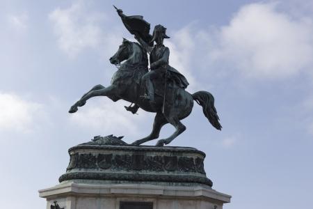 archduke: Statue of Archduke Charles.