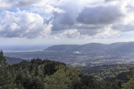 Magra river valley, Liguria Italy
