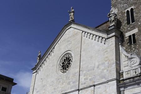 sarzana: Santa Maria church in Sarzana
