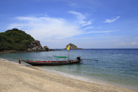 longtail: Traditional Thai longtail boat