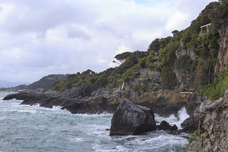Tellaro vistas a la costa