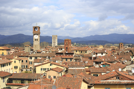 lucca: Lucca from above