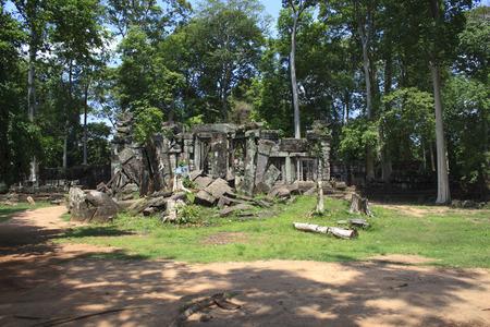 Ruins in Angkor photo