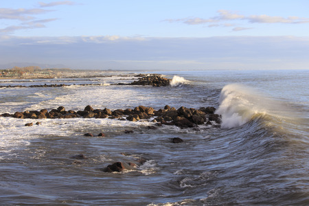 coastal feature: Winter Storm