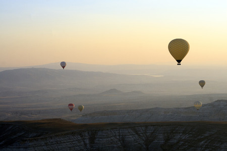 non moving activity: Cappadocia, Turkey Stock Photo