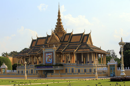 phnom phen: Royal Palace in Phnom Penh Editorial