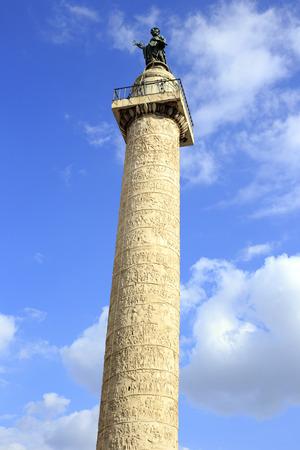 historic world event: the historical Obelisk in Rome Stock Photo