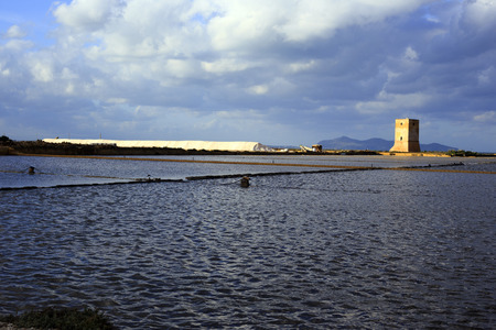 trapani: Salt Production in Sicily, Italy